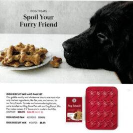 October 2020 Catalog- Dog Bone Pan Feature