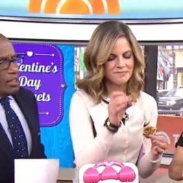 Today Show Heart Cookie Cups