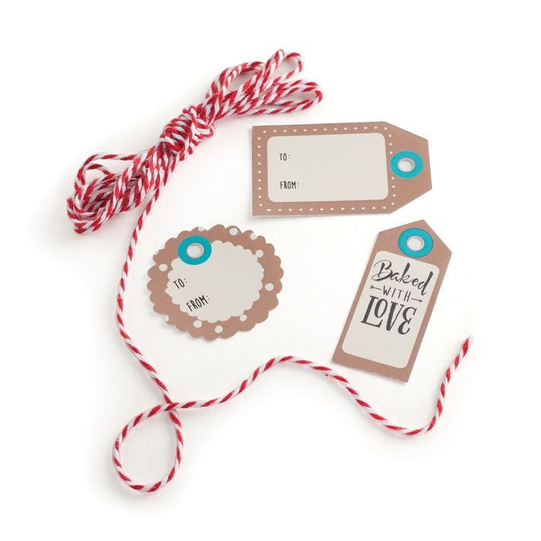 Kraft Tags & Bakers Twine - 12 Count
