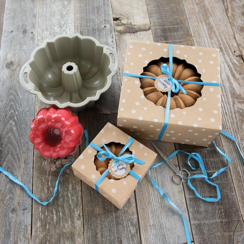 Kraft Paper Bundt® Box Large - 2 Count