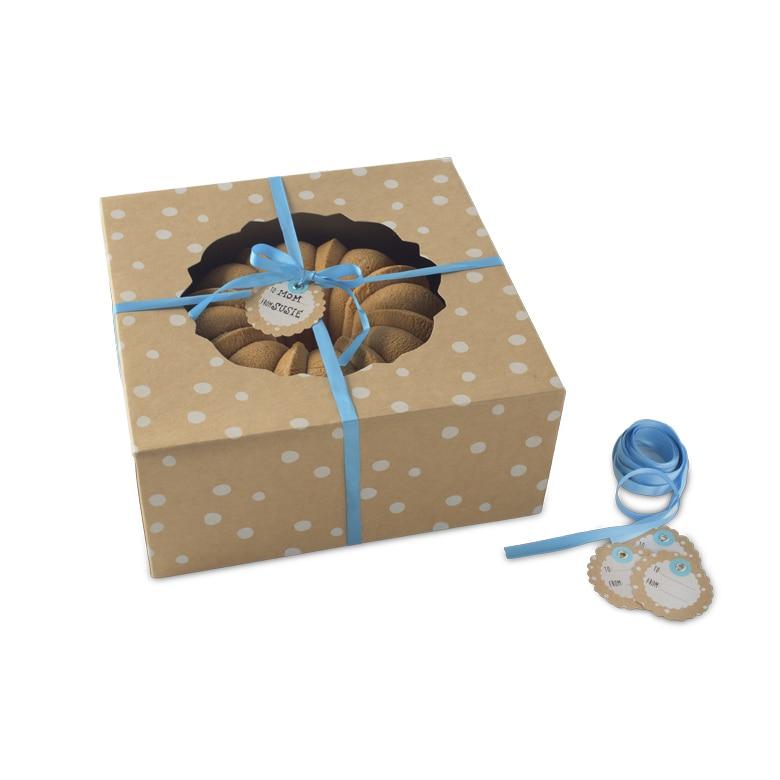 Kraft Paper Bundt® Box Small - 4 Count