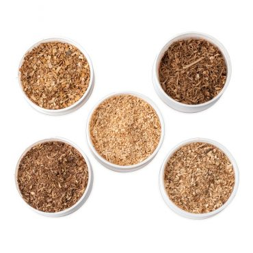 5 Flavor Wood Chip Pack for Smokers