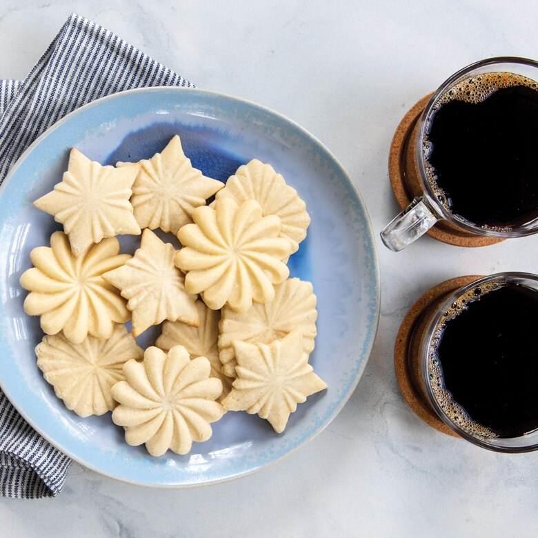 Pretty Pleated Cookie Stamps
