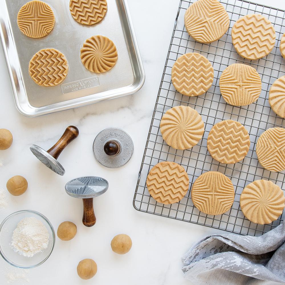Geo Stamped Sugar Cookies