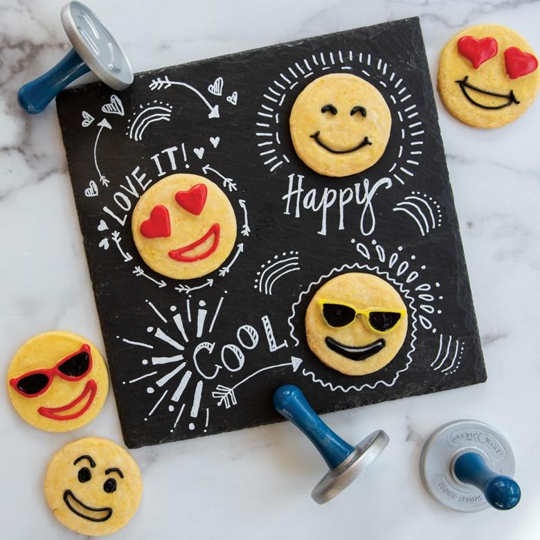 Emoji Cookie Stamps