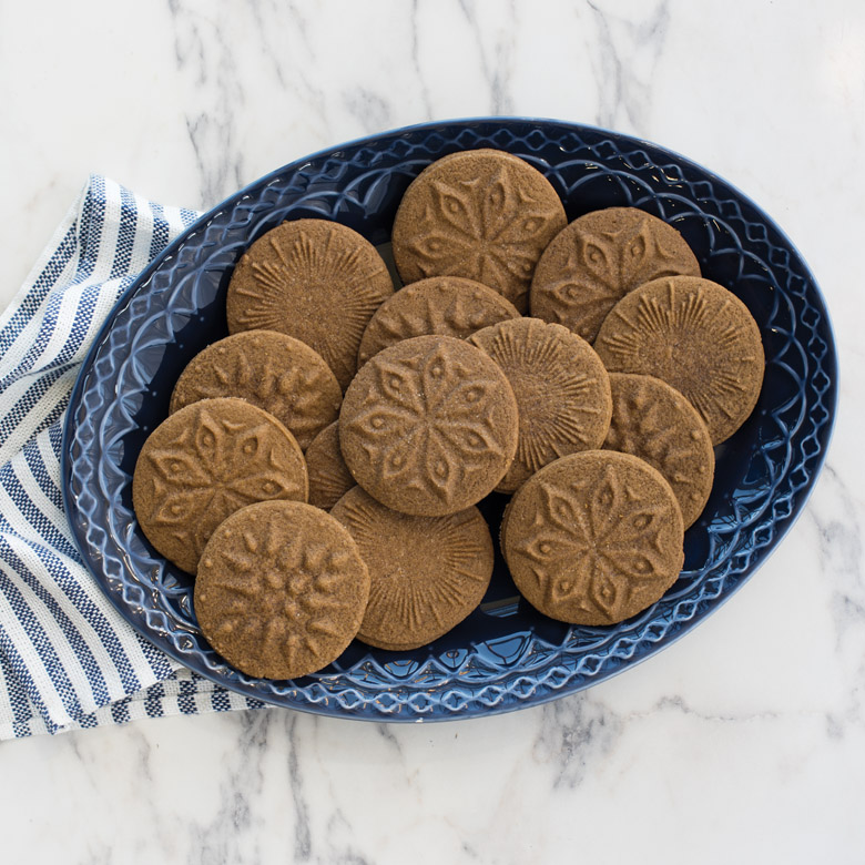Starry Night  Gingerbread Stamped Cookies