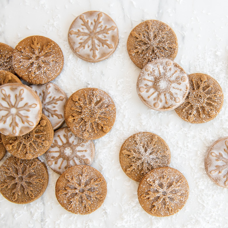 Snowflake Cookie Stamps