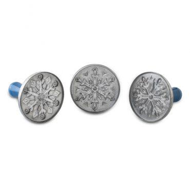 Snowflake Cookie Stamps, set of 3