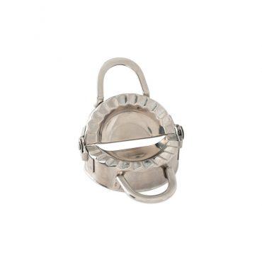 Dumpling Maker, two handle design, stainless steel