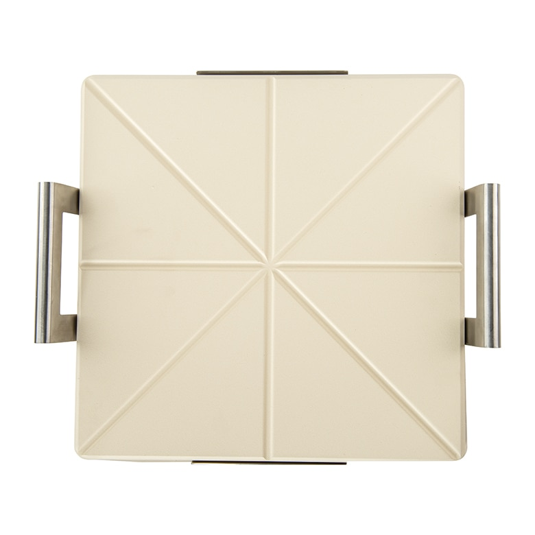Deluxe Square Pizza Stone with Rack