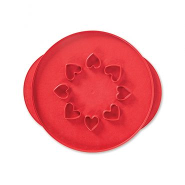 "12"" Lattice & Hearts Reversible Pie Top Cutter"