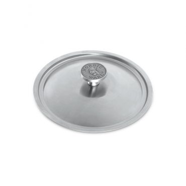 """8"""" Stainless Steel Lid with cast aluminum knob"""