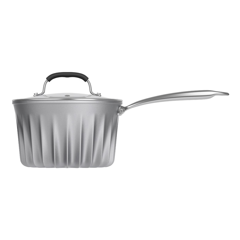 Flare 3 qt Sauce Pan with glass lid