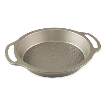 """Treatâ""""¢ 9"""" Round Cake Pan, textured surface"""