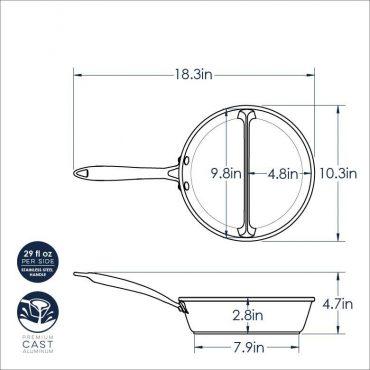 2-in-1 Pan Dimensional Drawing
