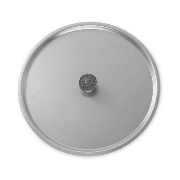 "13"" Stock Pot Cover, logo knob"
