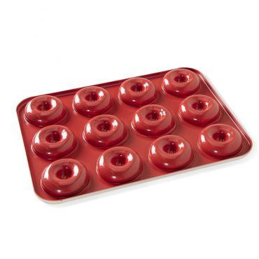 Mini Donut Pan, red