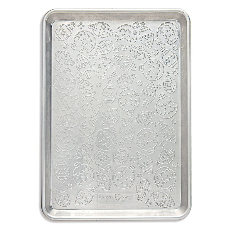 Embossed Naturals® Ornament Pattern Half Sheet