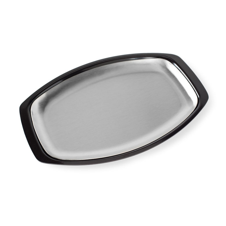 Stainless Steel Grill 'N Serve Plate