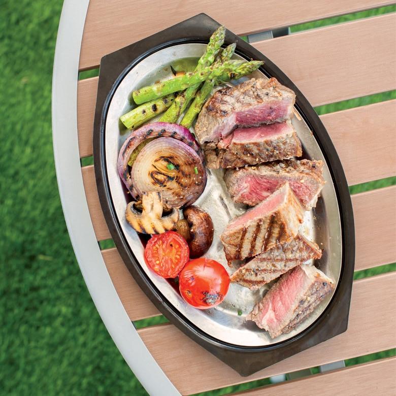 Sizzling Steak Server