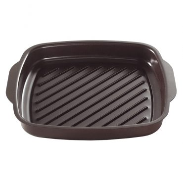 Square Texas Searing Griddle, ribbed bottom