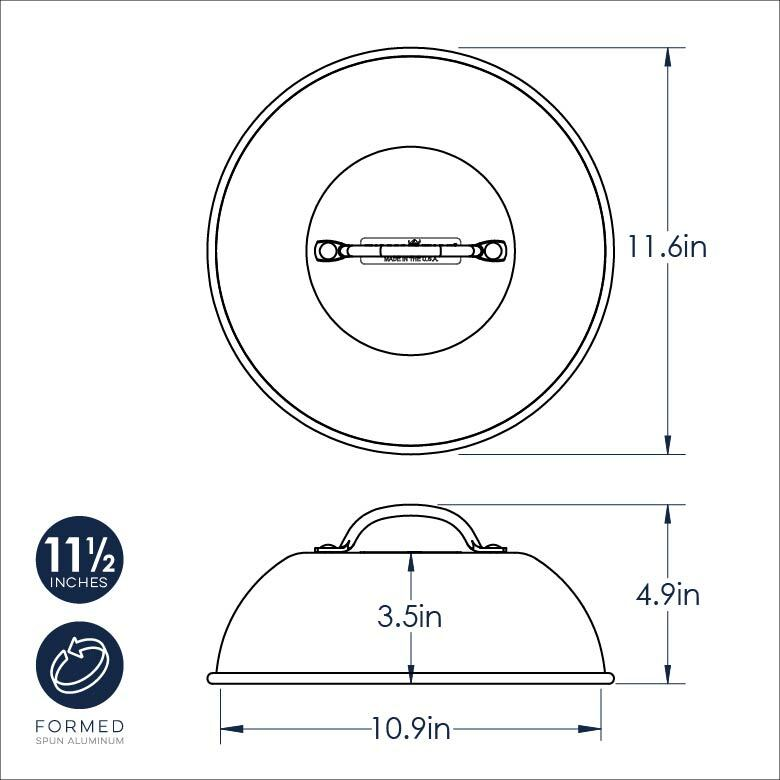 High Dome Grill Lid