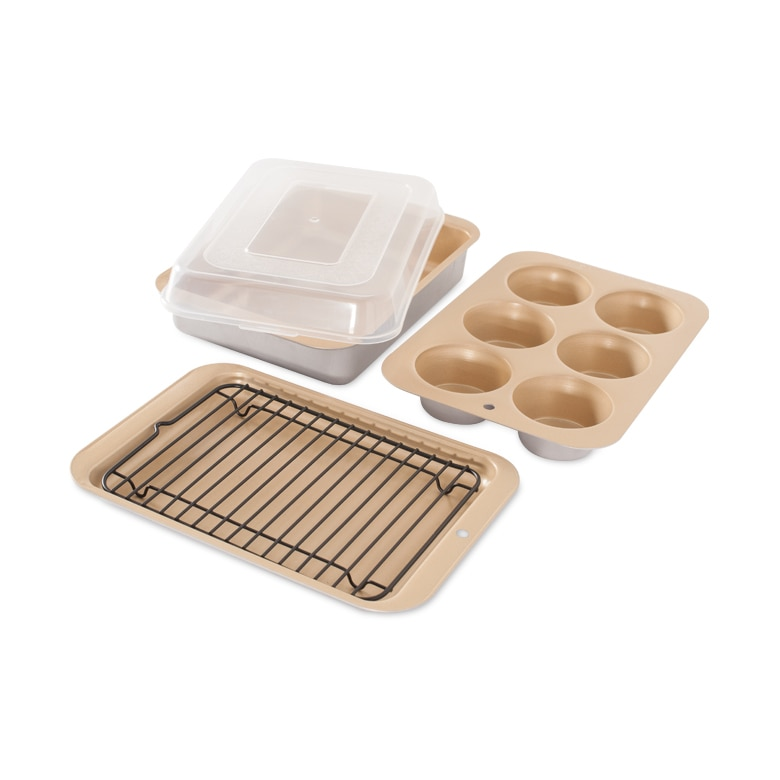 Nonstick Compact Ovenware 5 Pc Bake Set