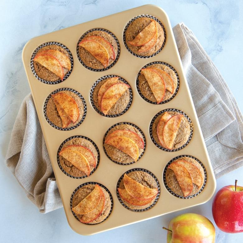 Naturals® Nonstick 12 Cavity Muffin Pan