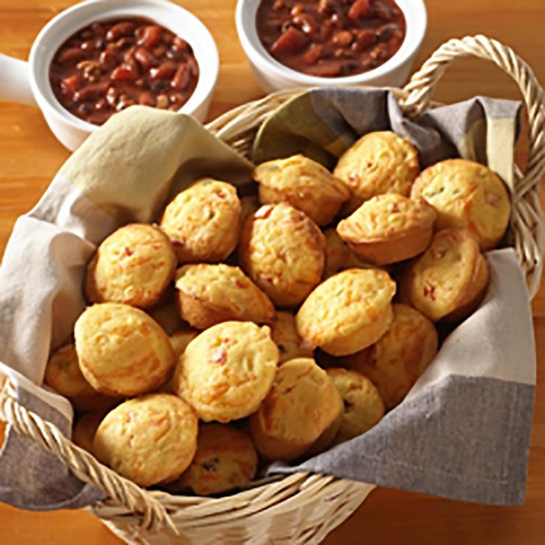 Naturals® Nonstick 24 Cavity Petite Muffin Pan
