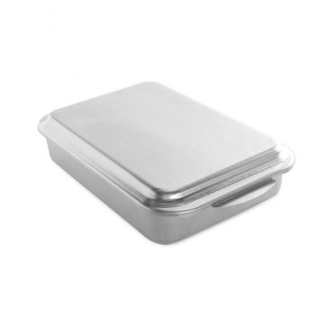 Naturals® Classic Metal Covered Baking Pan, with metal lid