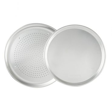 Traditional and Crisper Pizza Pan Set