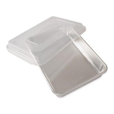 "Naturals® 9"" x 13"" Rectangular Cake Pan with Storage Lid"