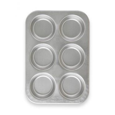 Jumbo Muffin Pan, 6 cavities overhead