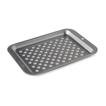 Naturals® Compact Ovenware Crisping Sheet, holes in pan for airflow