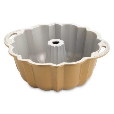 Anniversary Bundt® Pan, showing nonstick interior with handles