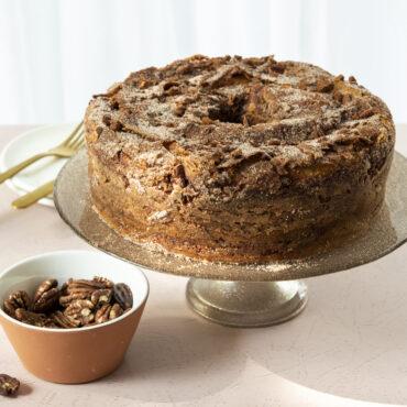 Baked Tube Cake Whole