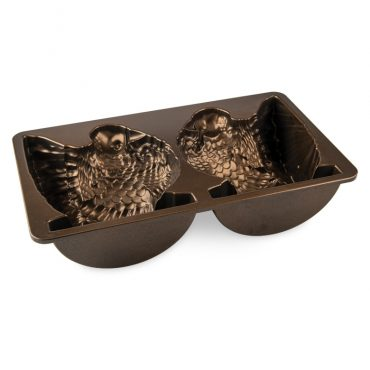 Classic Turkey Pan, bronze nonstick interior