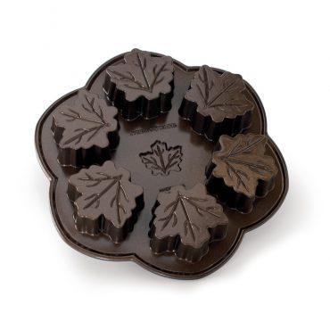 Maple Leaf Pan, bronze