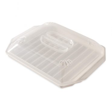 Compact Bacon Tray with Lid