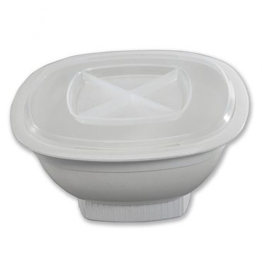 Microwave Popcorn Popper, bowl and vented lid