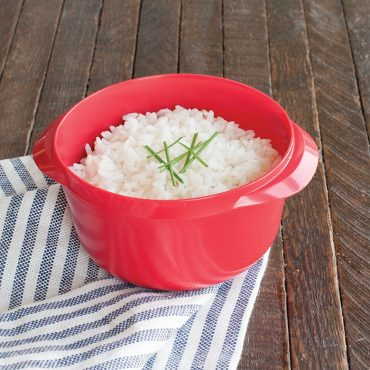 Microwaved rice in Multi Boiler