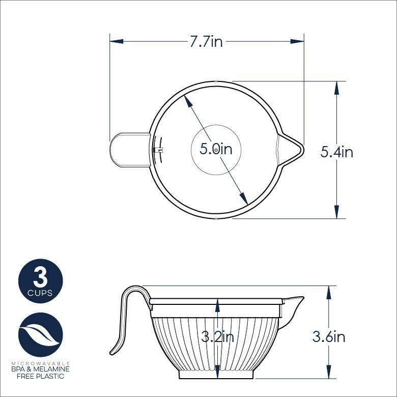 Micro Mix & Melt Bowl