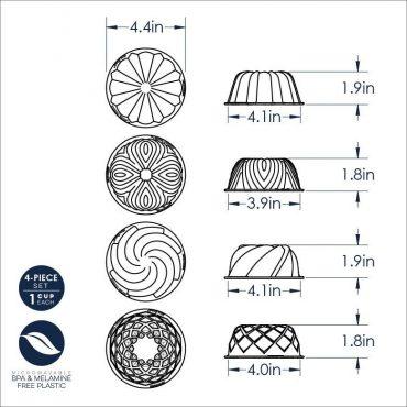 Micro Bundts Dimensional Drawing