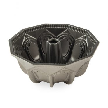 Vaulted Cathedral Bundt® Pan, silver nonstick interior