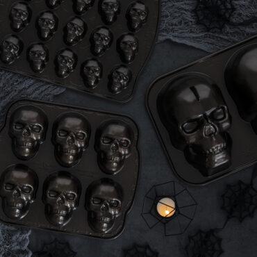 Group Product, Skull Bites Cakelet Pan,Skull Cakelete Pan, Skull Cake Pan