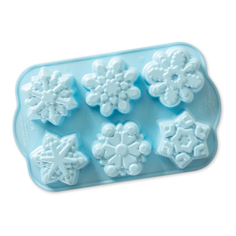 Disney Frozen 2- Cast Snowflake Cakelet Pan