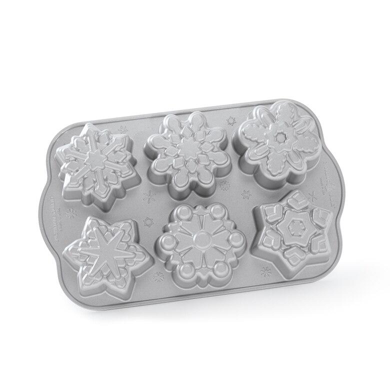 Frozen Snowflake Cakelet Pan
