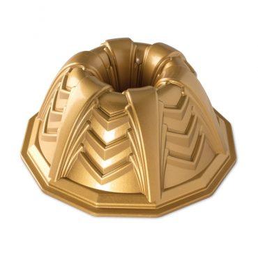 Marquee Bundt® Pan, gold exterior