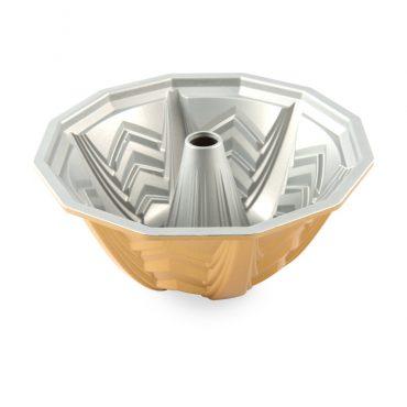 Marquee Bundt® Pan, silver nonstick interior