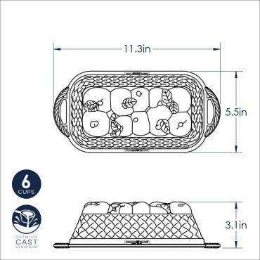 Apple Basket Loaf Dimensional Drawing